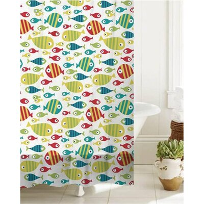 Goad Bath Bath Time Fishy Shower Curtain