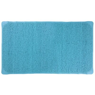 Louffa Bath Mat Color: Aqua