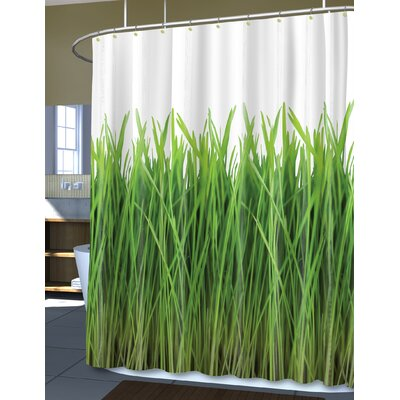 EVA Grass Shower Curtain