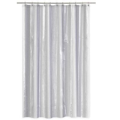 4 Gauge Shower Curtain Liner Color: Clear