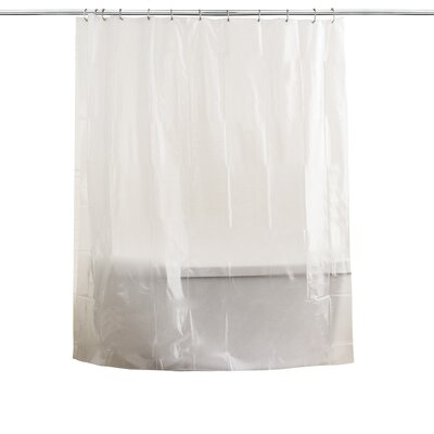 Anti Mildew Shower Curtain Liner Color: Frosty
