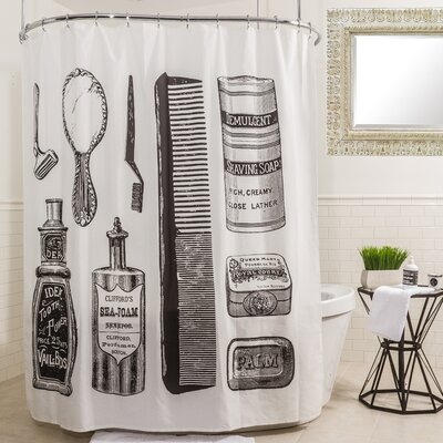 Vanity Shower Curtain