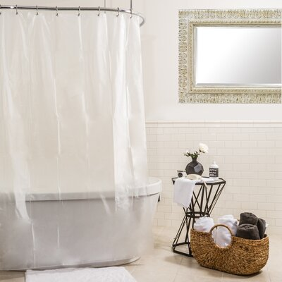 Eva Shower Curtain Liner Color: Frosty
