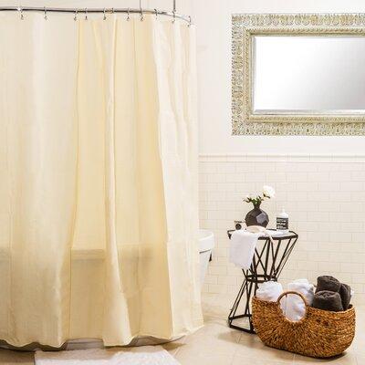 Heavy Gauge Shower Curtain Liner Color: Beige