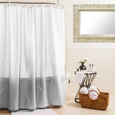 Fabric Shower Curtain Color: White
