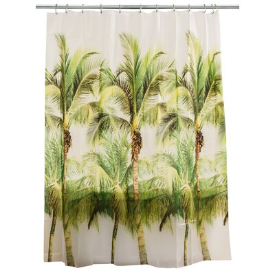 Peva Palm Tree Shower Curtain