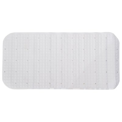 Pluto Shower Mat Color: White
