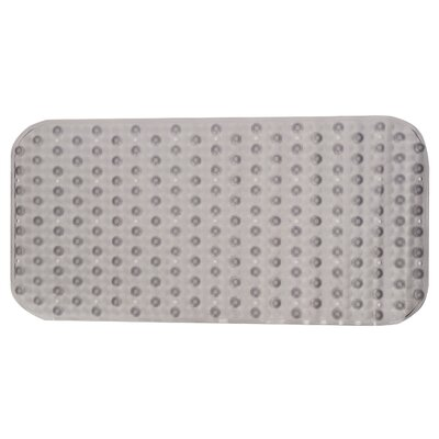 Pluto Shower Mat Color: Gray