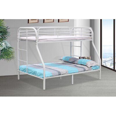 Twin/Full Bunk Bed Finish: White