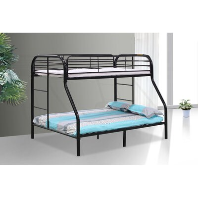 Twin/Full Bunk Bed Finish: Black