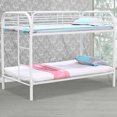 Twin/Twin Bunk Bed Finish: White