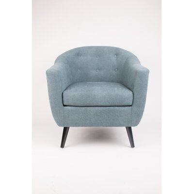 Armchair Upholstery: Denim