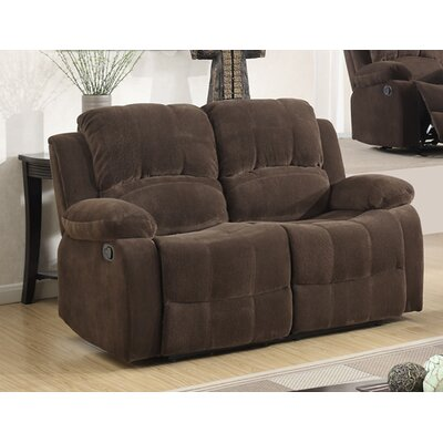Fabric Recliner Reclining Loveseat