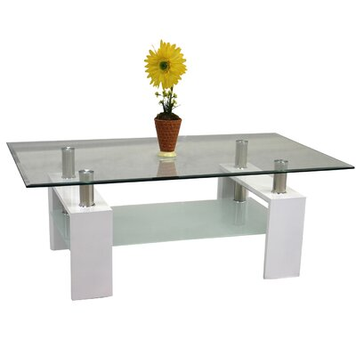 Coffee Table Base Color: White