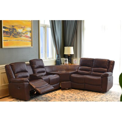 S88 3PC RECLINER SECT. Best Quality Furniture Sectionals