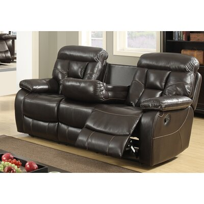 Recliner Leather Reclining Sofa
