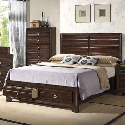 Storage Panel Bed Size: King