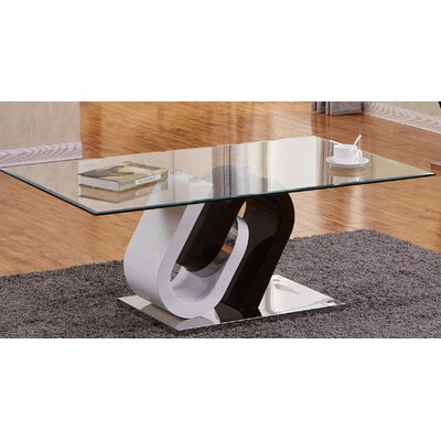 Brook Glass Top Coffee Table