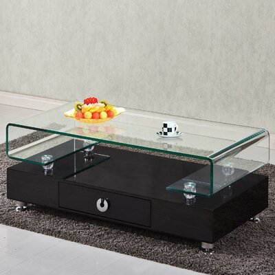 Griffith Glass Top Coffee Table