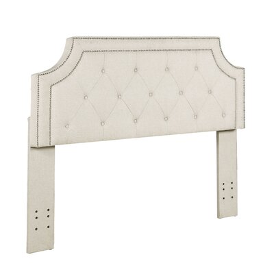 Kolmont Modern Full/Queen Upholstered Panel Headboard Upholstery: Beige