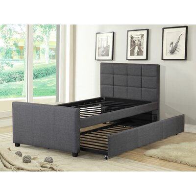 Charterhouse Twin Platform Bed with Trundle