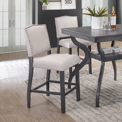 Palmyra Counter Height Upholstered Dining Chair