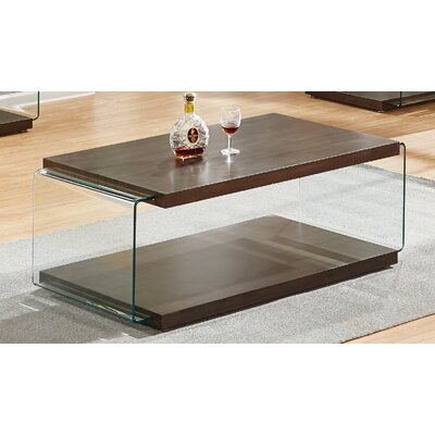 Iglesias Coffee Table Color: Walnut