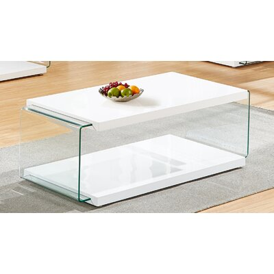 Iglesias Coffee Table Color: White