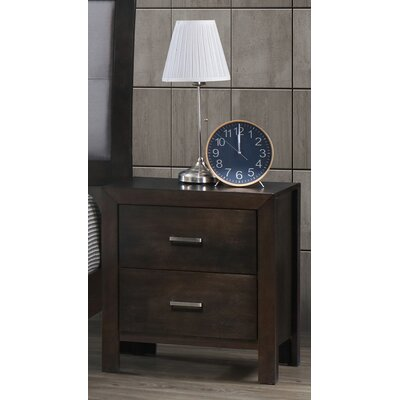 Vanbuskirk 2 Drawer Nightstand