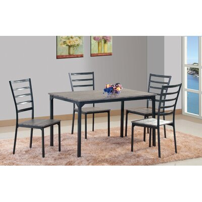 Shirely 5 Piece Dining Set