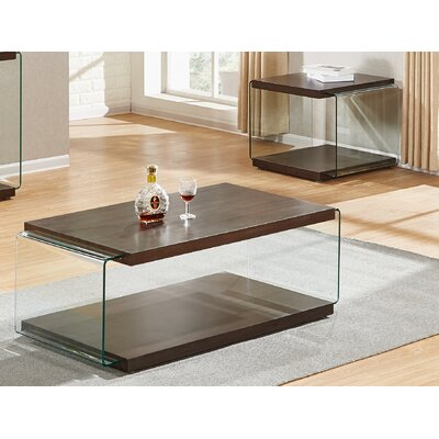 Grose 2 Piece Coffee Table Set Color: Cappuccino