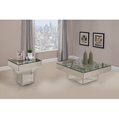 Groth 3 Piece Coffee Table Set