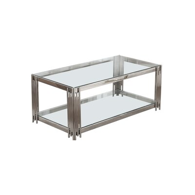 Harden Coffee Table Color: Silver