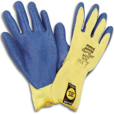 North Safety Size 8 Medium Rubber Coated Work Gloves With Para-aramid synthetic fiber� Lining at Sears.com