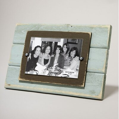 Picture Frame Color: Blue/Chocolate 09-F46-BC