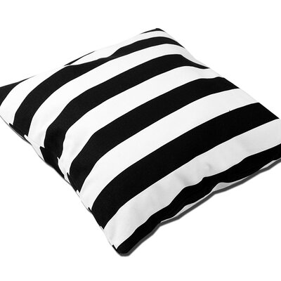 Madilynn Striped Throw Pillow Size: 14 H x 14 W