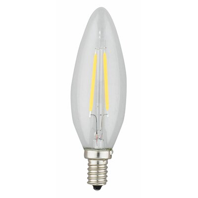 Torpedo 4W E12 LED Light Bulb Wattage: 2W