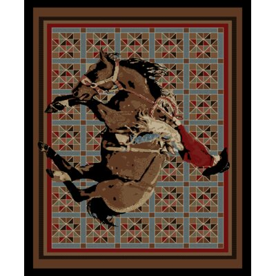 Vacation El Paso Brown Area Rug Rug Size: 8 x 10