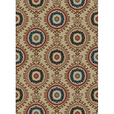 New York Charlotte Cream Area Rug