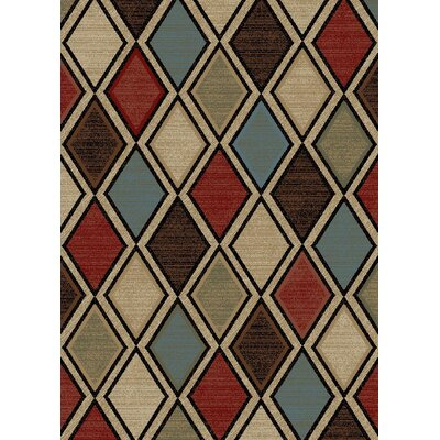 New York Jewel Brown Area Rug