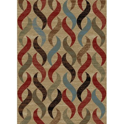 New York Infinity Brown Area Rug