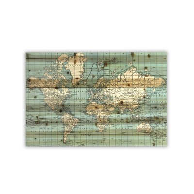'World Map' Graphic Art