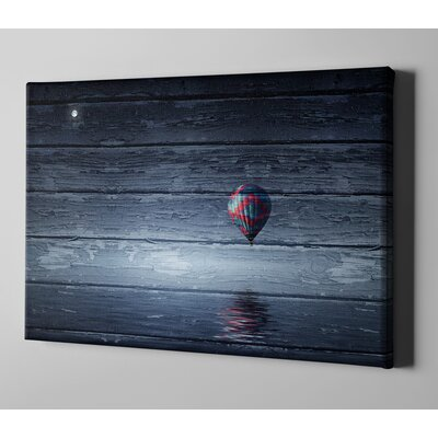 'One Air Balloon' Photographic Print on Canvas Size: 12
