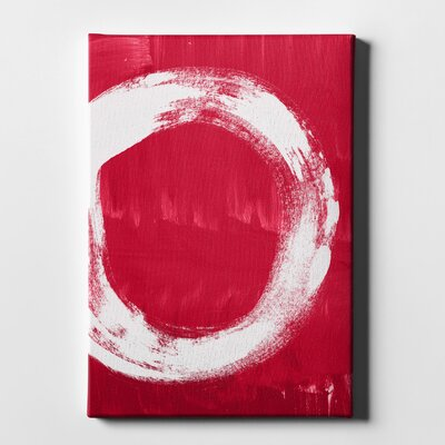 'Redenso' Acrylic Painting Print on Wrapped Canvas Size: 16