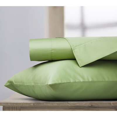 400 Thread Count 100% Cotton Sheet Set Color: Sage, Size: King