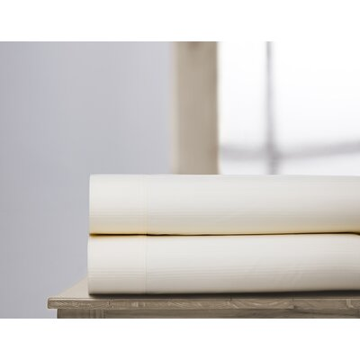 400 Thread Count 100% Cotton Sheet Set Size: Full, Color: Ivory