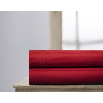 400 Thread Count 100% Cotton Sheet Set Size: Queen, Color: Brick