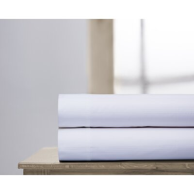 400 Thread Count 100% Cotton Sheet Set Size: Full, Color: White