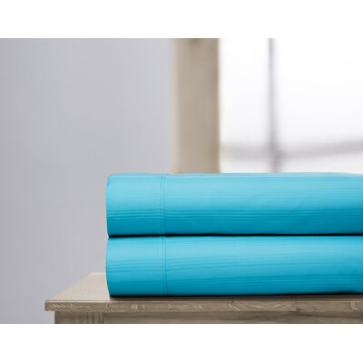 400 Thread Count 100% Cotton Sheet Set Size: Full, Color: Turquoise