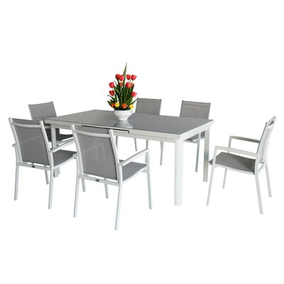 Aluminum 7 Piece Dining Set